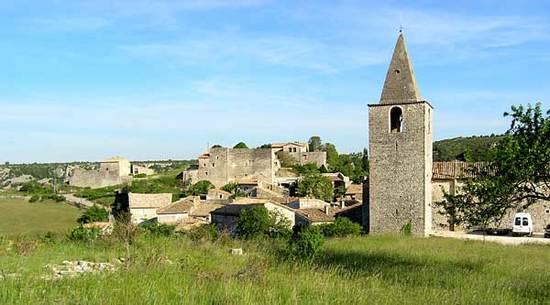 GRAS (proche Saint Montan) 2140 m² (vendu)