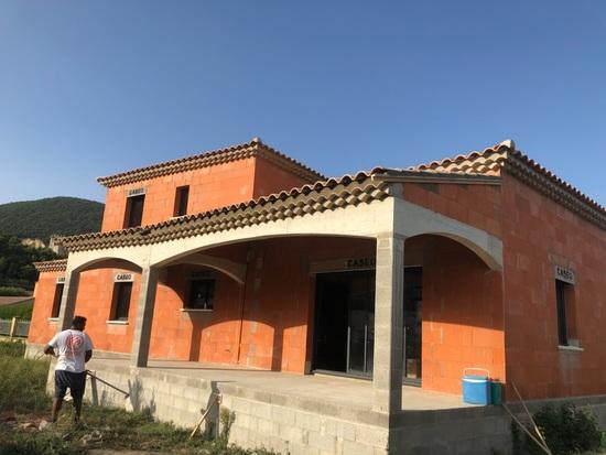 Construction gros oeuvre sur la commune Cruas